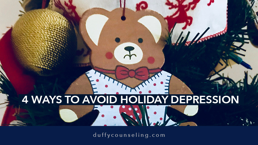 4 Ways Avoid Holiday Depression