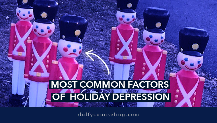 The Holiday Blues Series: Most Common Factors of Holiday Depression (& How to Manage Through Them)