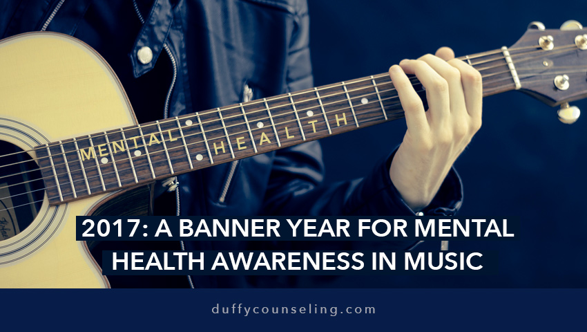 2017: A Banner Year for Mental Health Awareness in Music