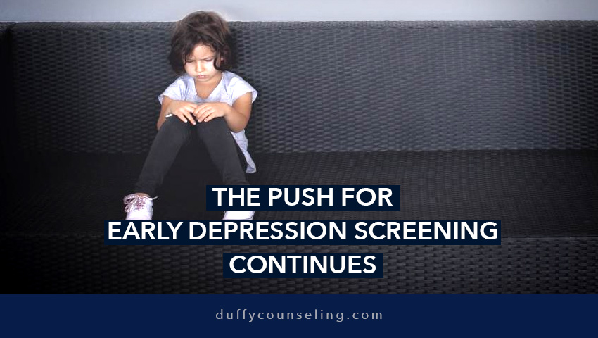 Early Depression Screening for Children & Teenagers